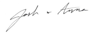 Welcome Signature